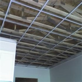 Drop ceiling before